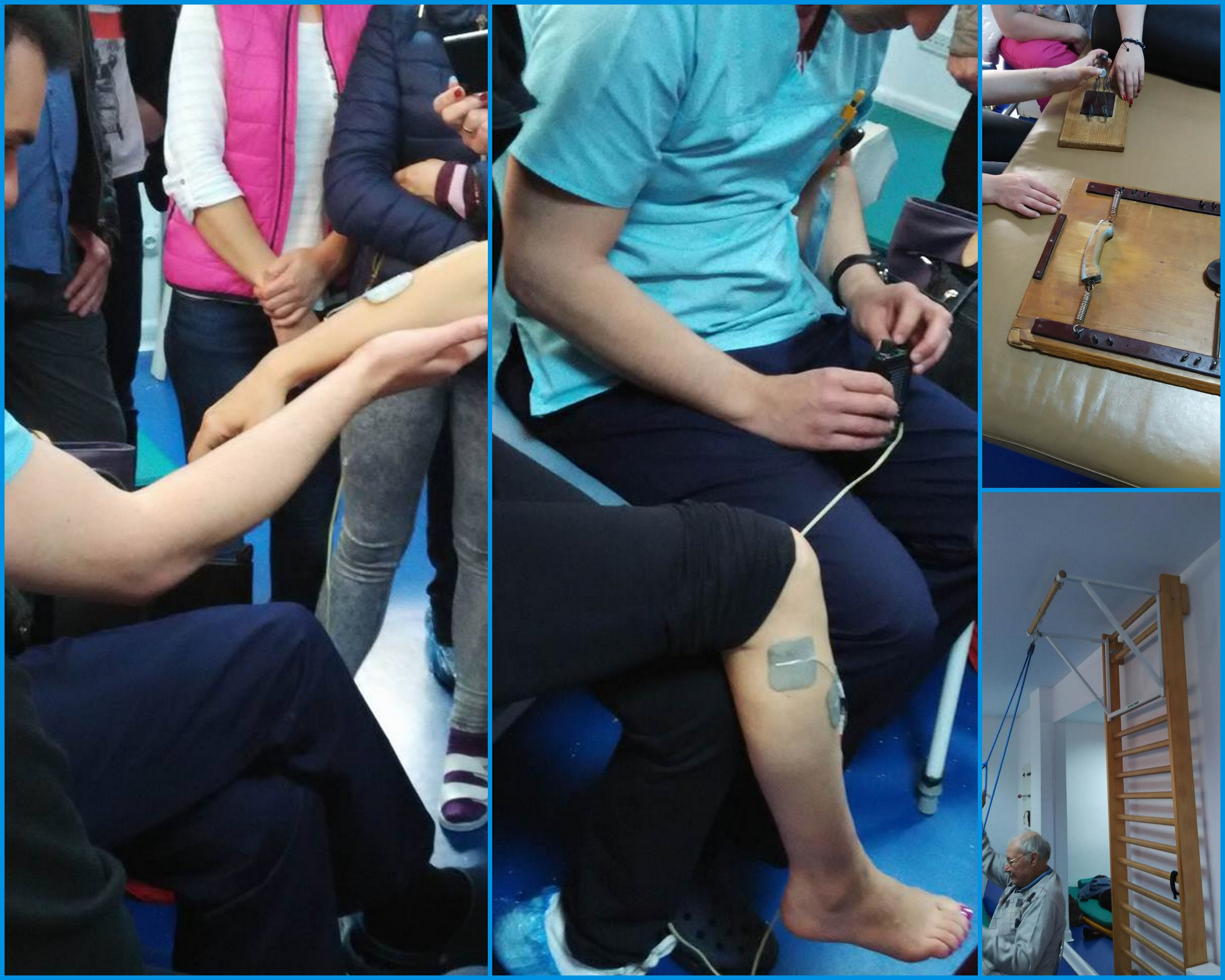 Elemente de fizioterapie Activitati pratice Kinetoterapie Bacau